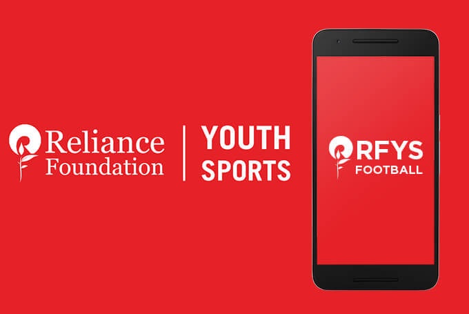Mobile App Development - RFYS Football - Reliance Foundation - iGreenTech Services Portfolio